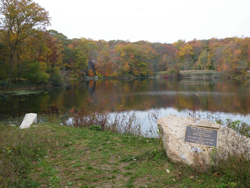 Van Wie Pond, Fall 2014